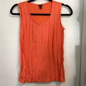 Ann Taylor Pleated Tank